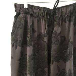 Adidas Floral Climalite Joggers